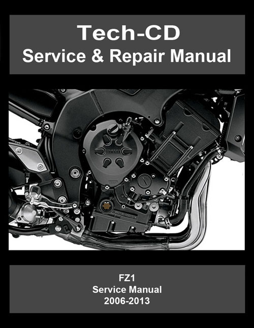 yamaha fz1 service repair manual fz 1 2006 2007 2008. Black Bedroom Furniture Sets. Home Design Ideas