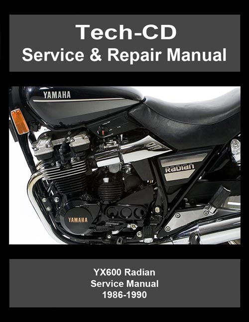 Yamaha Yx600 Radian Service  U0026 Repair Manual 1986 1987 1988
