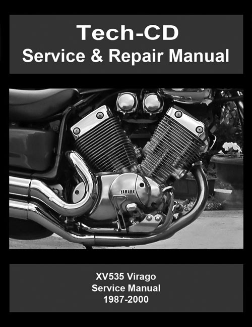 yamaha virago 535 service repair manual xv535 1987 2000. Black Bedroom Furniture Sets. Home Design Ideas