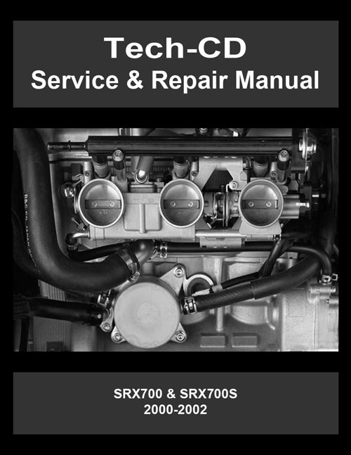 Yamaha Srx700 Srx700s Service  U0026 Repair Manual Srx 600 700